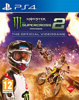 Monster Energy Supercross 2 El Official Videojuego PS4 PLAYSTATION 4 Milestone