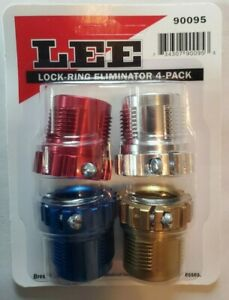 LEE 90095 4-Pack Spline Drive Breech Lock Bushing Lock-Ring Eliminator