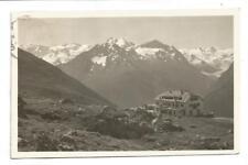AK Schweiz Muottas Kulm Hotel s/w 1929 Hotelstempel