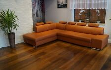 Cognac Farbe Couch