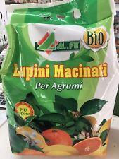Lupino macinato biologico ALFE da 5kg per Agrumi