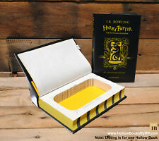 Hollow Book Safe - Hufflepuff Harry Potter Year 3 - Limited 20 Year Edition