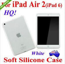 Premium Soft Rubber TPU Silicon Case Cover For iPad Air 2(iPad 6)(Thin Skin!)