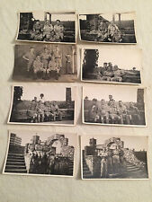 8 Postcards WW2 British Soldiers. Please see pictures.