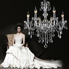 Elegant Modern Chandelier Ceiling Romantic Candle Crystal Fixture RIDGEYARD