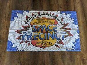 Retro Gerry Anderson Space Precint Pillowcase 90s Fabric Rare