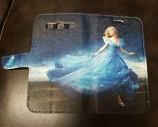 Cinderella Princess Printed Faux Leather Flip Phone Case Disney Galaxy S3