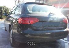 Deflector Audi A4 B8 8K + Avant 1,8 TFSI Tubo Doble Tubo de Escape Cromo - Look