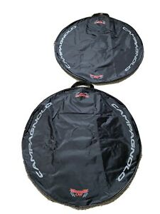Campagnolo Authentic Super Record 80th Aniversary Cycle Wheel Bags (x2) 1 Pair