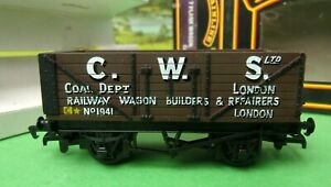 """MAINLINE 37-156 GWR GREY /""""SHREWSBURY/"""" LWB 20T BRAKE VAN NO.56684 N.M.I.B."""