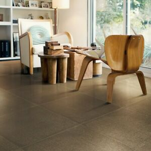 CUT SAMPLE Canvass Taupe Glitter Semi Polished Porcelain Wall & Floor Tiles