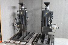2 Hydraulic Linear Actuators 55kip 12 Stroke Schenck 2 Post Test Rig