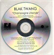 (31E) Blak Twang, Champagne Lifestyle - DJ CD
