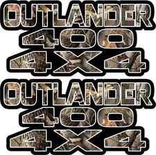 Outlander 400 4x4 Tarnung Benzintank Grafiken Sticker ATV Quad Autofenster