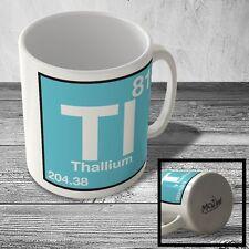MUG_ELEM_106 (81) Thallium - Tl - Science Mug