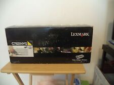 Lexmark C782X4YG Yellow Extra High Yield Toner Cartridge 15k Genuine