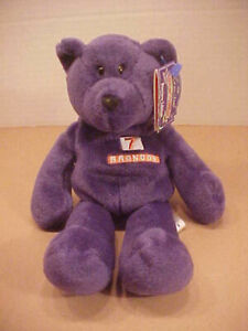 ELWAY (John), 1998 Limited Treasures Preview Edition Denver Broncos Beanie Bear