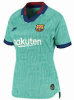 Nike Dri Fit FC Barcelona Women's Third Soccer Jersey 19/20 AT2516-310 Size XL