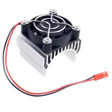 RC HSP 7020 Silver Alum Heat Sink 5V Fan 40*40*10mm Cooling For 540 550 Motor