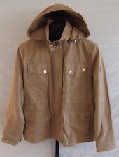 NWT Lauren Ralph Lauren Khaki Water Resistant Hooded Jacket Rain coat Size L