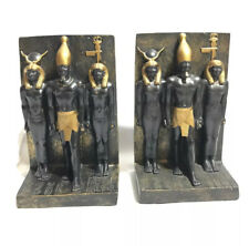 Veronese Vintage Art Deco Egyptian 6.5� Tall Rare Bookends