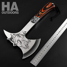 HA Tactical Outdoor Combat Hunting Camping Hiking Survival Hand Axe F713