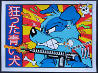 Blue Dog Art Print 2020 Frank Kozik S/N Edition Beastie Boys