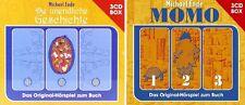 6 CDs * DIE UNENDLICHE GESCHICHTE + MOMO HÖRSPIEL BOX IM SET   # NEU OVP !