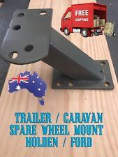Trailer / Caravan Universal Spare Wheel Mount - Holden Ford - HEAVY DUTY