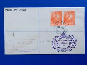 South Africa 1941 6d Orange Fdc