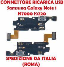 CONNETTORE RICARICA X SAMSUNG GALAXY NOTE 1 N7000 i9220 FLEX DOCK USB MICROFONO
