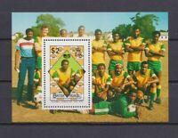 S6541) British Virgin Isl. 1989 MNH Wc Football '90 - CM Football S/S