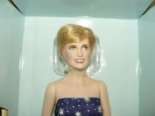 Franklin Mint Princess Diana Enchantment Doll Rare 17 Inches In Height W COA