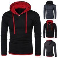 2017 Men's Hoodie Warm Jumper Coat Jacket Hooded Sweatshirt Outwear Sweat Gift