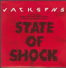 """7"""" Jacksons State Of Shock (Michael Jackson, Mick Jagger) / Your Ways 80`s Epic"""