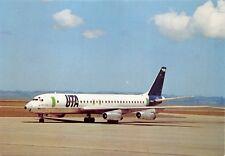 UTA Union de Transports Aériens McDONNEL DOUGLAS DC-8 SERES 62 AIRLINES POSTCARD