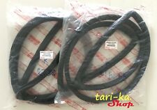 Windshield Weatherstrip Rubber Seal Set F-R For Toyota Corona Coupe RT52 RT55 2D