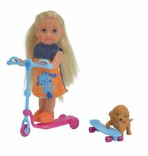 Evi Love Scooter Fun with  Scooter, Skateboard, and Dog, New in Unopened Box