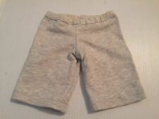 American Girl Doll Grey Capri Pants Sweats Pjs Bottoms Authentic Clothing