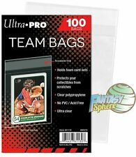 Team Bags Ultra PRO pour Toploader  100 Pochettes/Sleeves  Pokémon - Yu-Gi-Oh!