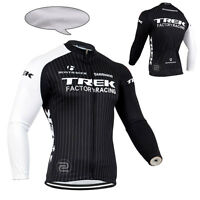 New Mens Winter Cycling Clothing Bicycle Long Sleeve Jerseys Tops Thermal Fleece