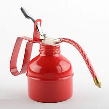 New 500CC 500ml Squirt Oil Can Flexible Spout Nozzle Pump Action