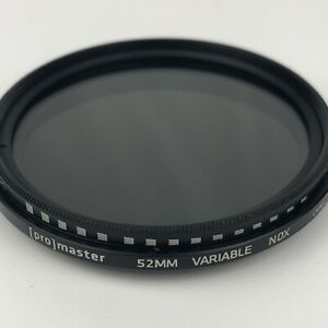 Promaster 9538 52 mm Filter Variable NDX EXCELLENT