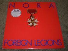 Foreign Legions Nora~PROMO~1984 Synth Pop Rock~Insert~NM Vinyl~FAST SHIPPING!!!