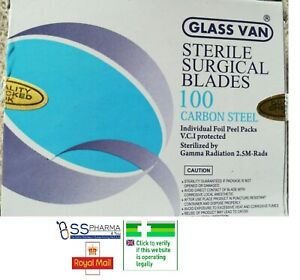 Sterile Surgical blades No 10,11 23