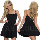 Sexy European Padded Summer Mini Dress Party Casual Clubbing Wear Size 6 8 XS S