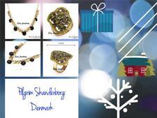 PILGRIM Skanderborg, Denmark Danish Design Necklace & Ring Size 7 GIFT BOX SALE