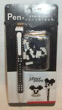 Nanoblock Pen Disney Mickey Mouse Micro Sized Building Blocks Factory Sealed