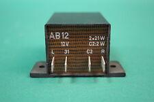 BLOQUE AB12 12v 2x21w Flasher actualización ahk WARTBURG 353 TRABANT 601 LADA