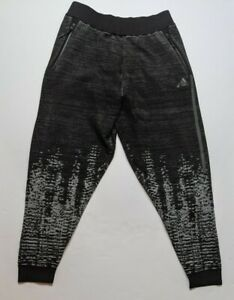 $160 New Adidas Z.N.E. Pulse Sweat Pants Tapered Street Casual M Black-Off White